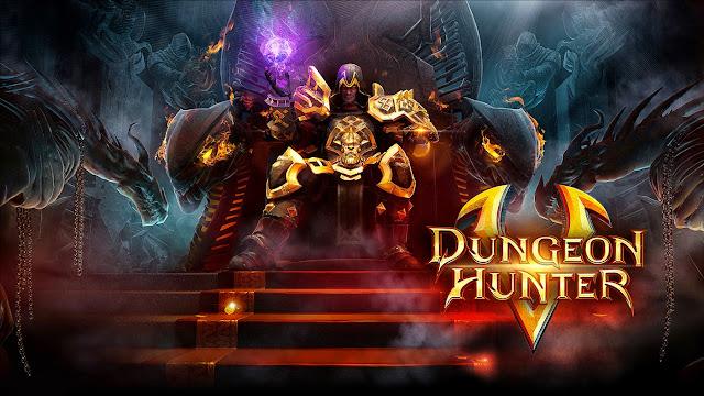 Dungeon Hunter 5 APK OBB V3.3.0j