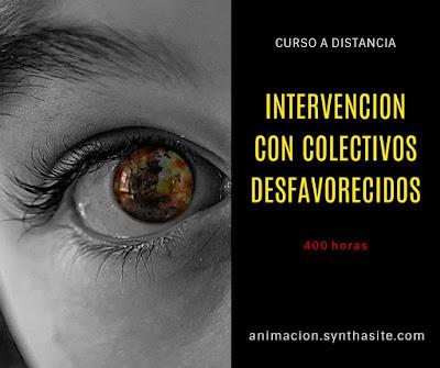 imagen curso intervencion con colectivos desfavorecidos