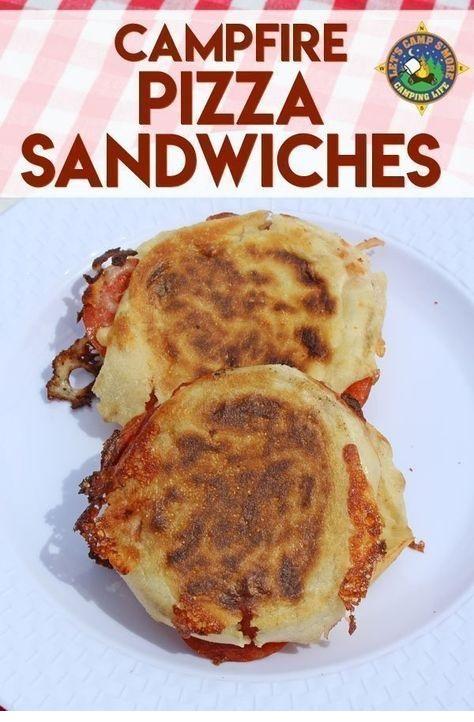 Campfire Pizza Sandwiches