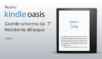 Nuovo e-reader Kindle Oasis
