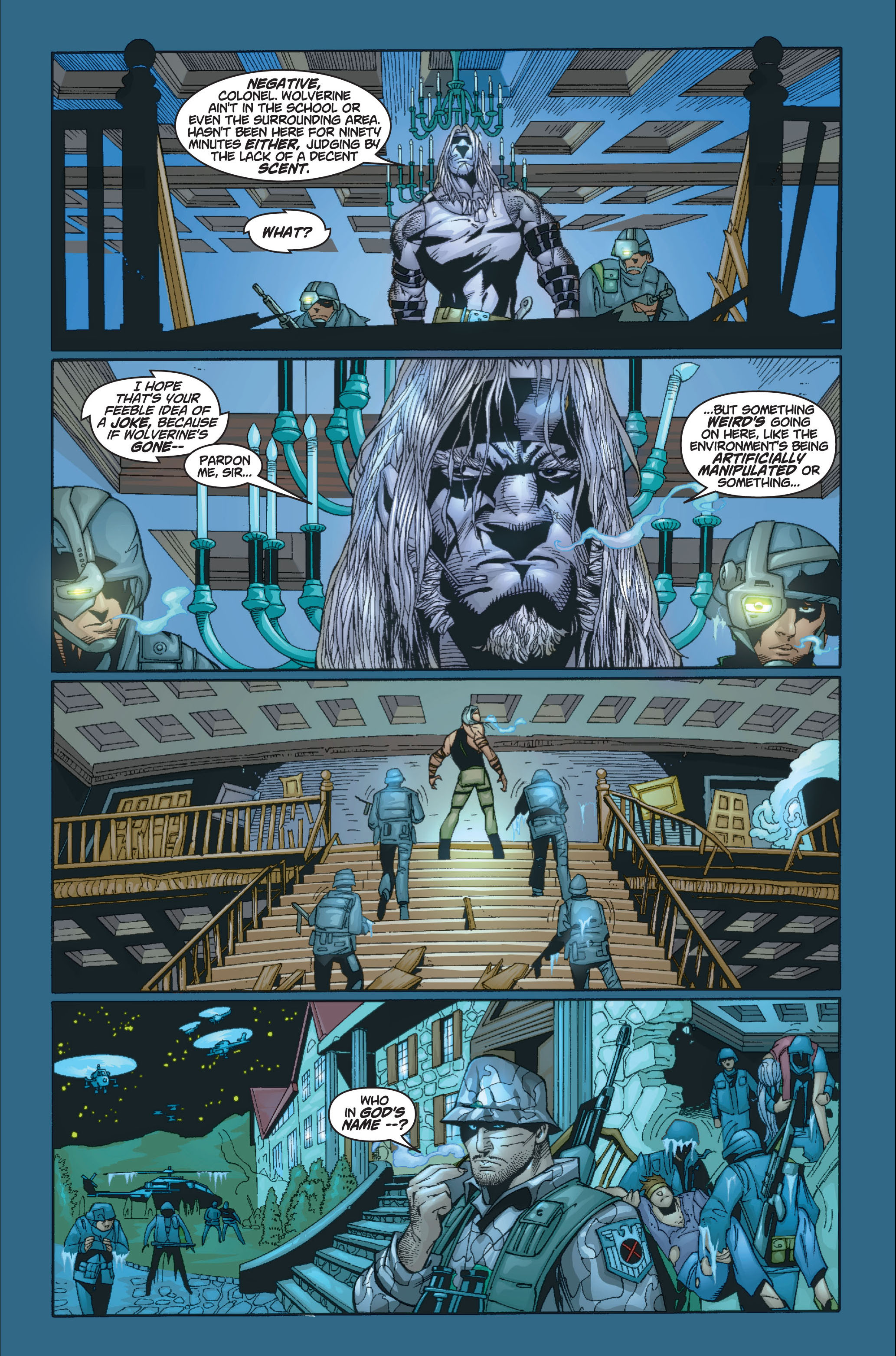 Read online Ultimate X-Men comic -  Issue #8 - 19