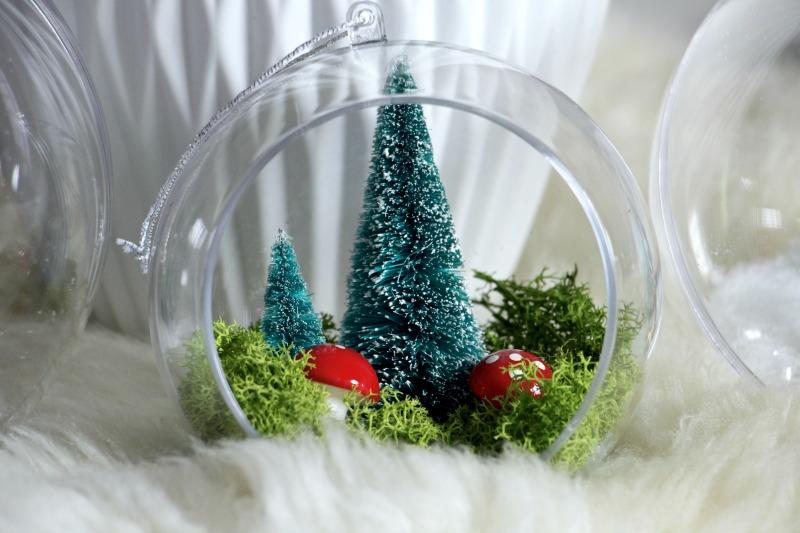 Desafio handbox diy bolas de navidad la bici azul blog - Bolas navidad transparentes ...