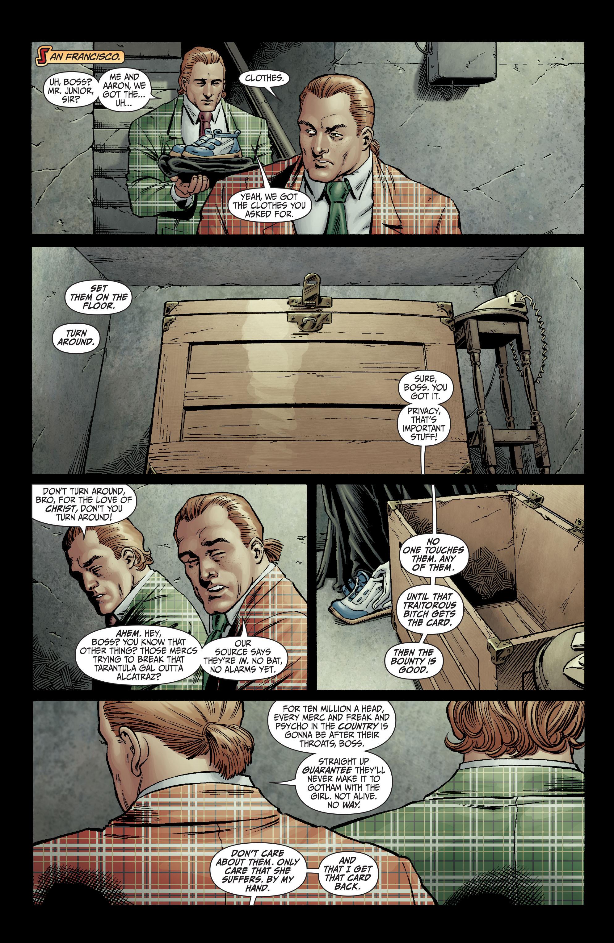 Read online Secret Six (2008) comic -  Issue #2 - 12