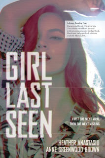 Girl Last Seen Heather Anastasiu Anne Greenwood Brown