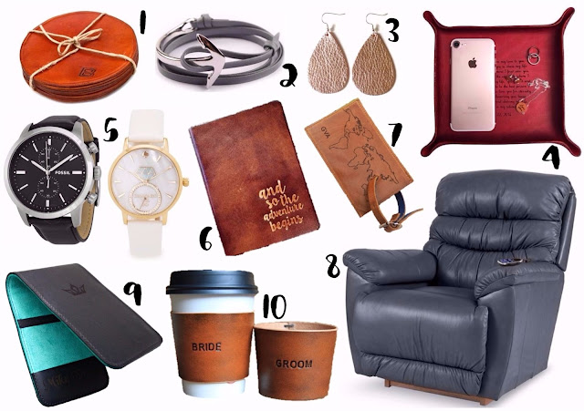 Gift For 3rd Wedding Anniversary: Borrowed Heaven: Third Anniversary Gifts: Leather