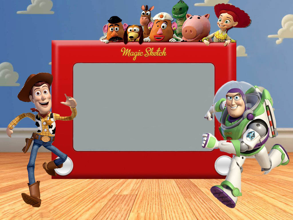 Our Blessed Existence Free Toy Story Party Invite Template