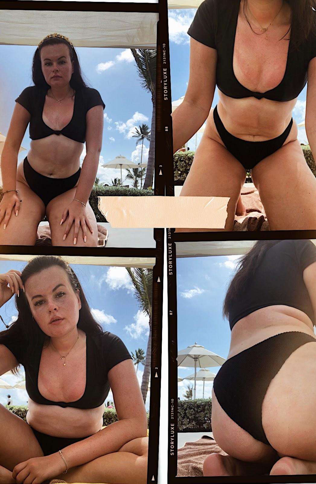 south beach bikini, body confidence, body positive bloggers uk, how to feel good in a bikini, how to be bikini ready, how to wear a bikini,