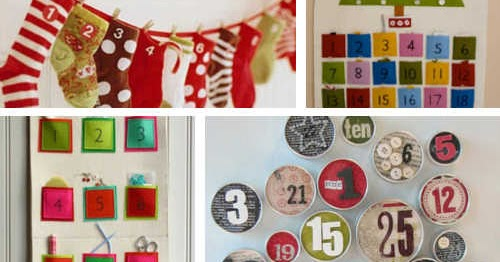 DIY Home Sweet Home: Advent Calendars