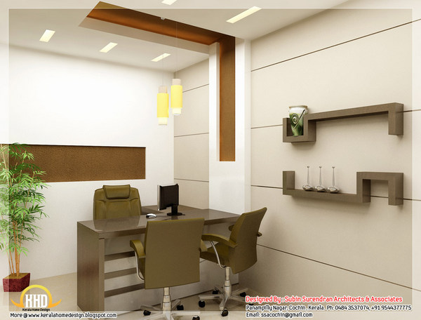 31 lastest office cabin furniture design for Interior office design ideas photos layout
