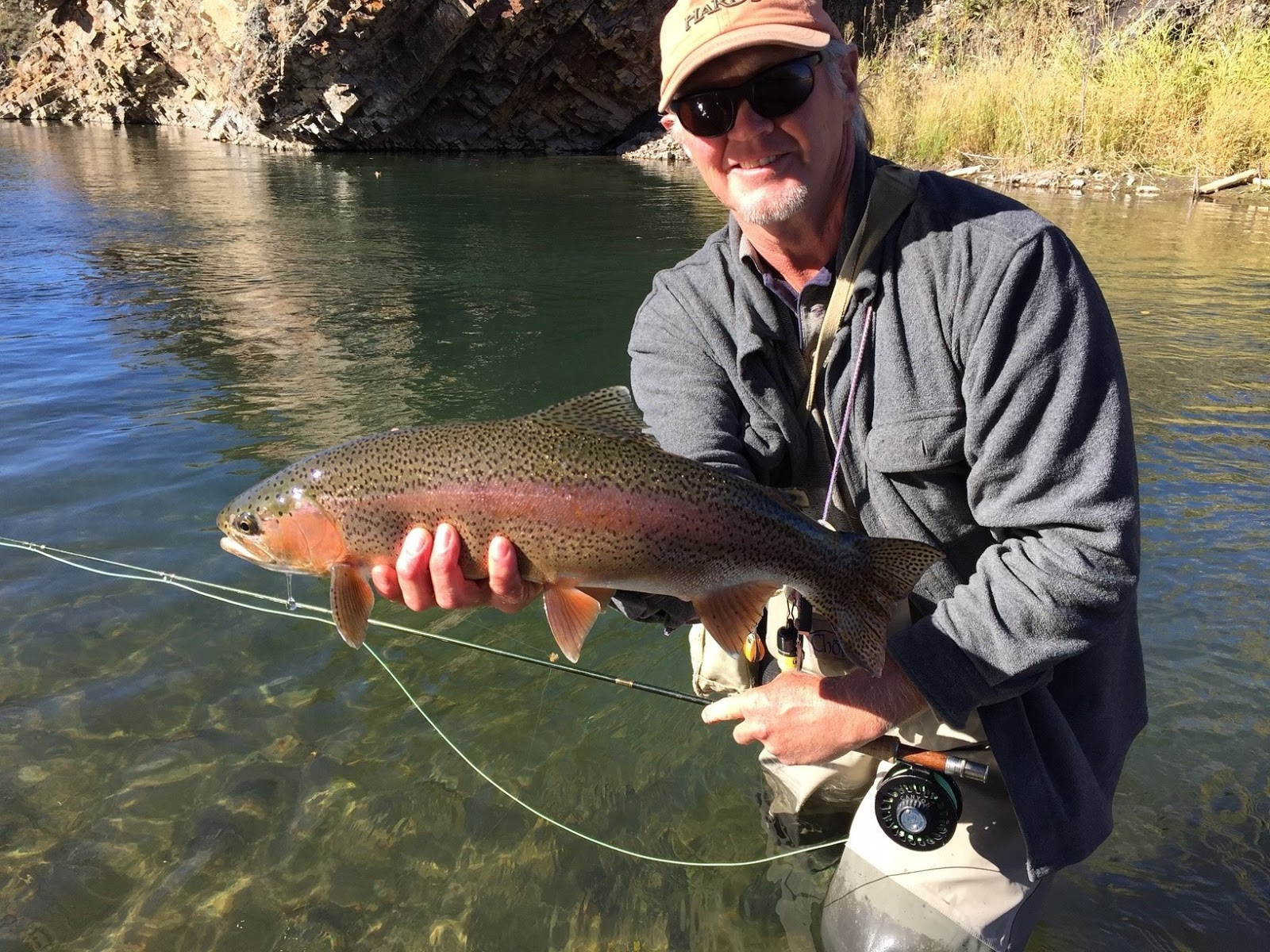 Alberta fly fishing for Trout fishing in alabama