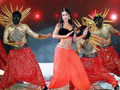 Katrina Kaif Performs during the Pepsi Indian premier League Opening Ceremony