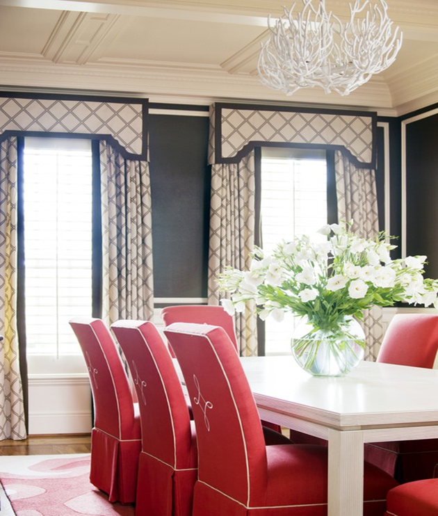 Dining Room Window Valances: Dec-a-Porter: Imagination @ Home: Valances And Pelmets