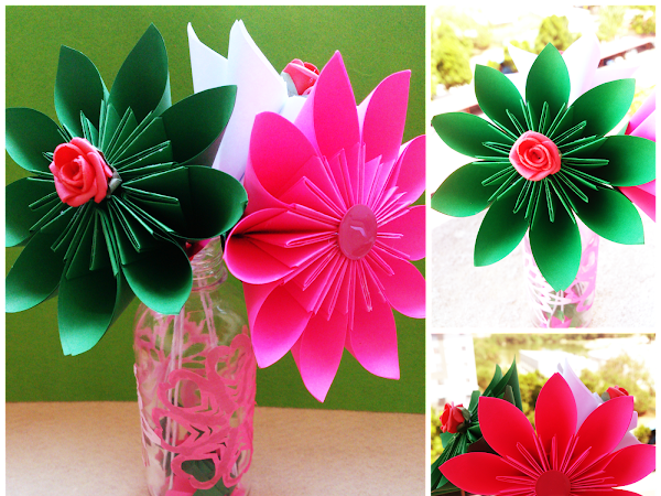 {Real DIY} : How to make origami Kudusama flower?