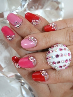 Easy Nail Art Designs for Short Nails 2012