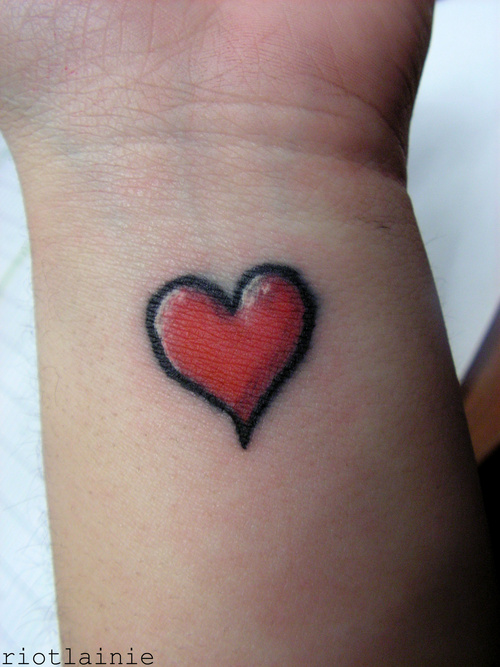 My Tattoo Site: Tattoos For Girls On Wrist Love