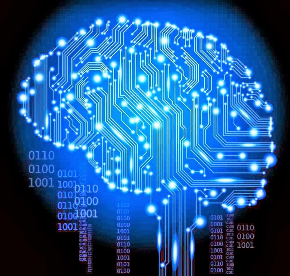 Cérebro digital - Fonte: Google Imagens