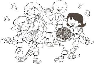 Brincadeiras crianças-cantigas de roda
