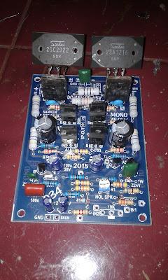 Sanken Power Amplifier