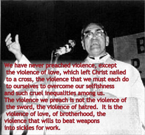 Blue Eyed Ennis: Archbishop Oscar Romero Anniversary