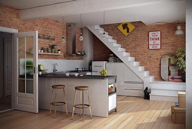 Rogoh Sedikit Kocek Saja, Rubah Desain Dapur Minimalis Sederhana Jadi Lebih Elegan