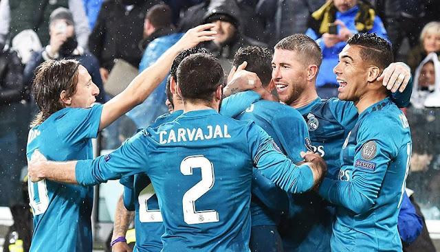 Real Madrid Berhasil Kalahkan Juventus Dengan Skor 0-3