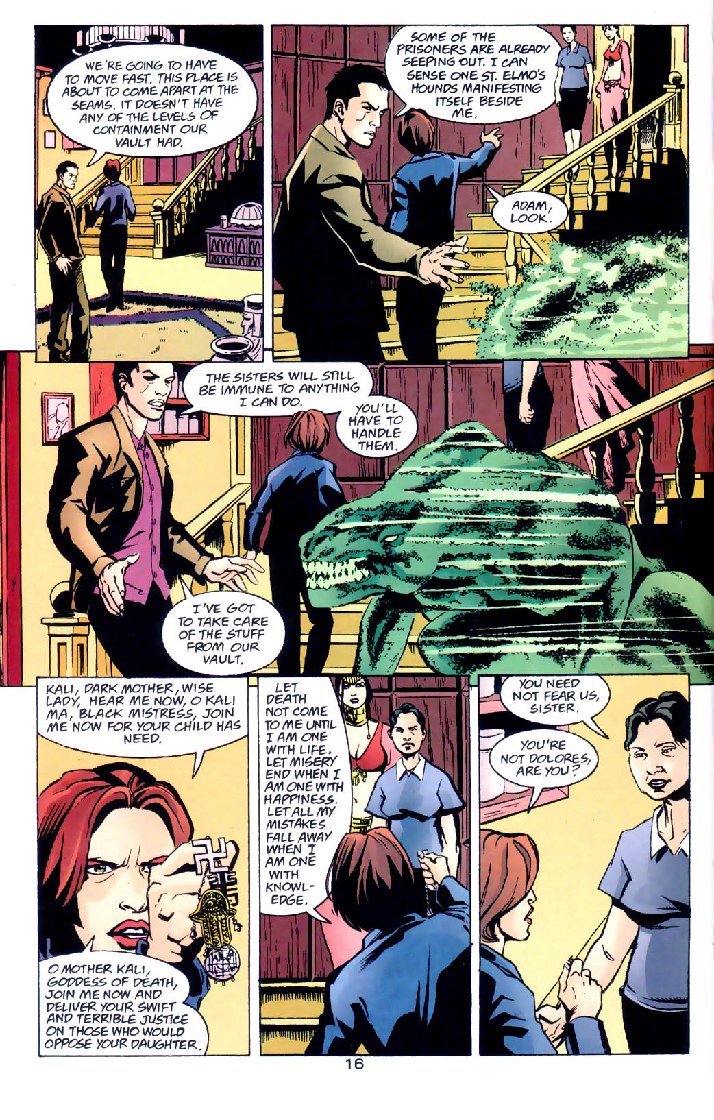 Read online Midnight, Mass comic -  Issue #6 - 17