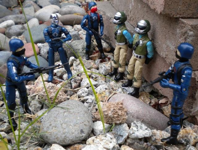 Steel Brigade, Mail Away, Bootleg Cobra Mortal, Cobra Troopers