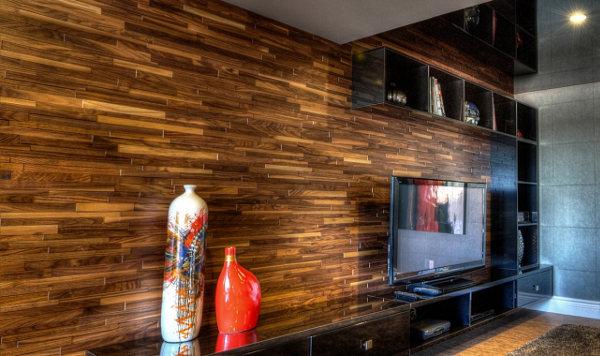 Marzua friendlywall nuevo concepto de revestimiento en madera - Revestimientos madera para paredes interiores ...
