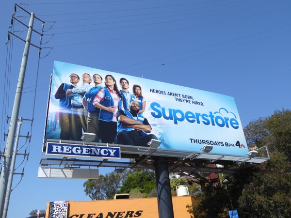 Superstore season 2 NBC billboard