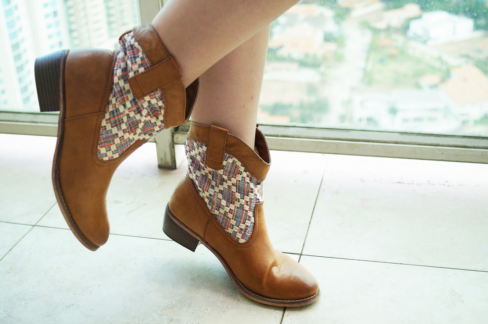 Cowboy Booties from Aérpostale