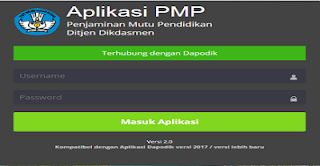 Masalah Pengisian PMP 2018.08 dan Solusinya