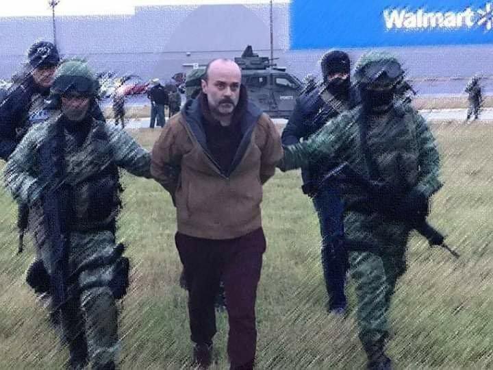 """La captura de 'El Panilo' o """"M-100"""" del CDG"""