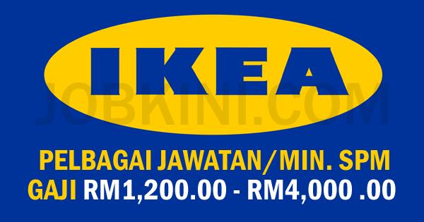 JAWATAN KOSONG TERKINI DI IKEA