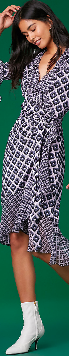 Diane Von Furstenberg The DVF Carli Wrap Dress