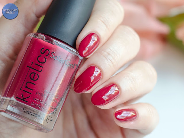 "Kinetics Solar Gel ""Hedonist Red"""