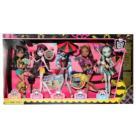 MH Gloom Beach Ghoulia Yelps Doll