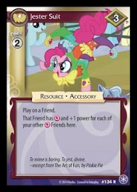 My Little Pony Jester Suit The Crystal Games CCG Card