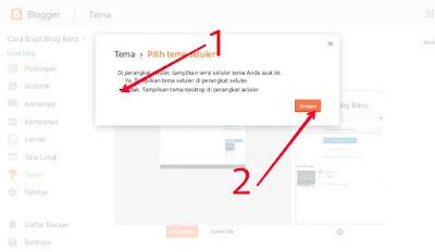 Cara Mengganti Template atau tema pada Blogger