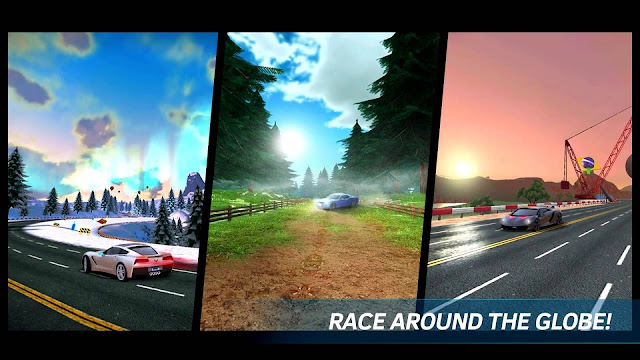 Race around the globe