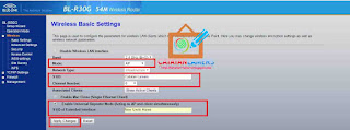 Setting Wireless Router Bluelink BL-R30G Sebagai Repeater Bridge untuk Hotspot