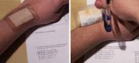 Trucos para copiar en exámenes
