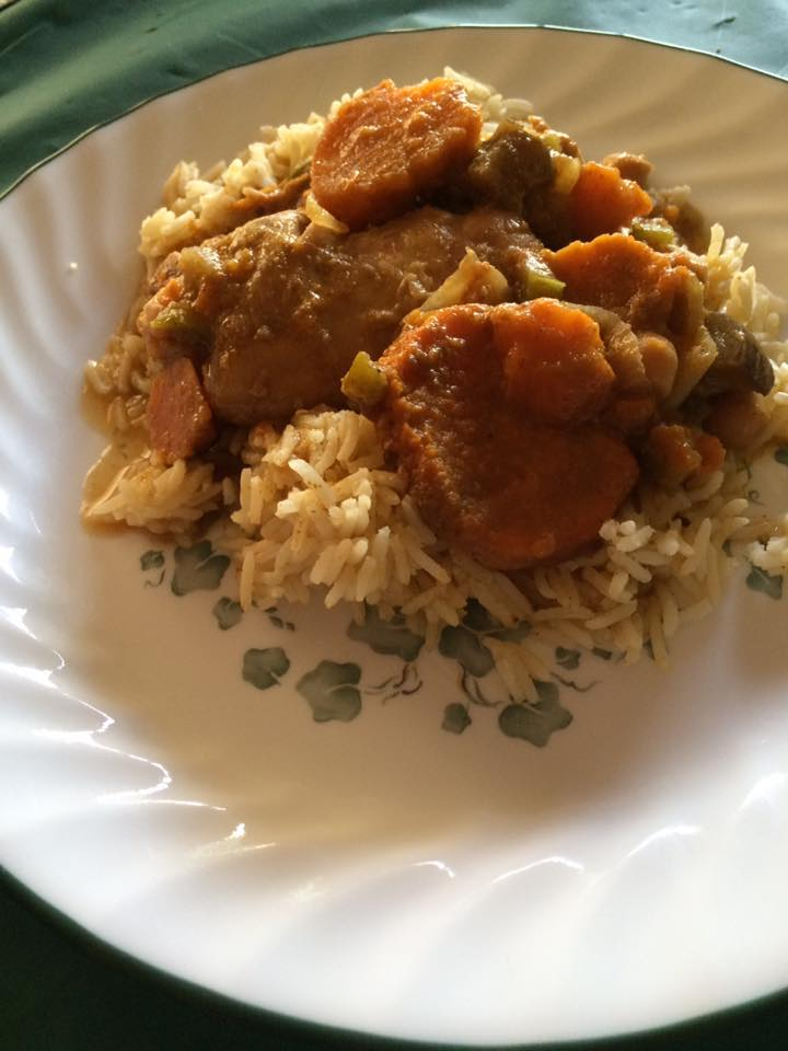 Indian Curry Chicken In The Slow Cooker This Is The Recipe That Rachael Ray Gave