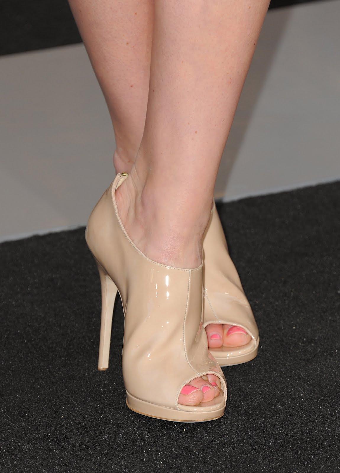 Celebrity Feet Close Up Lindsey Vonn Feet
