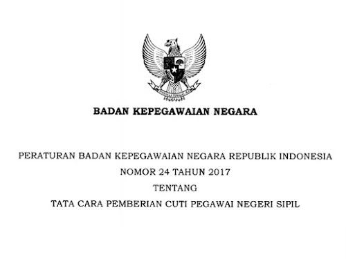 Peraturan BPN RI No 24 Tahun 2017