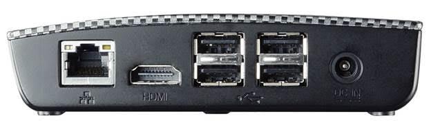 BIOSTAR RACING P1 Mini PC Rear