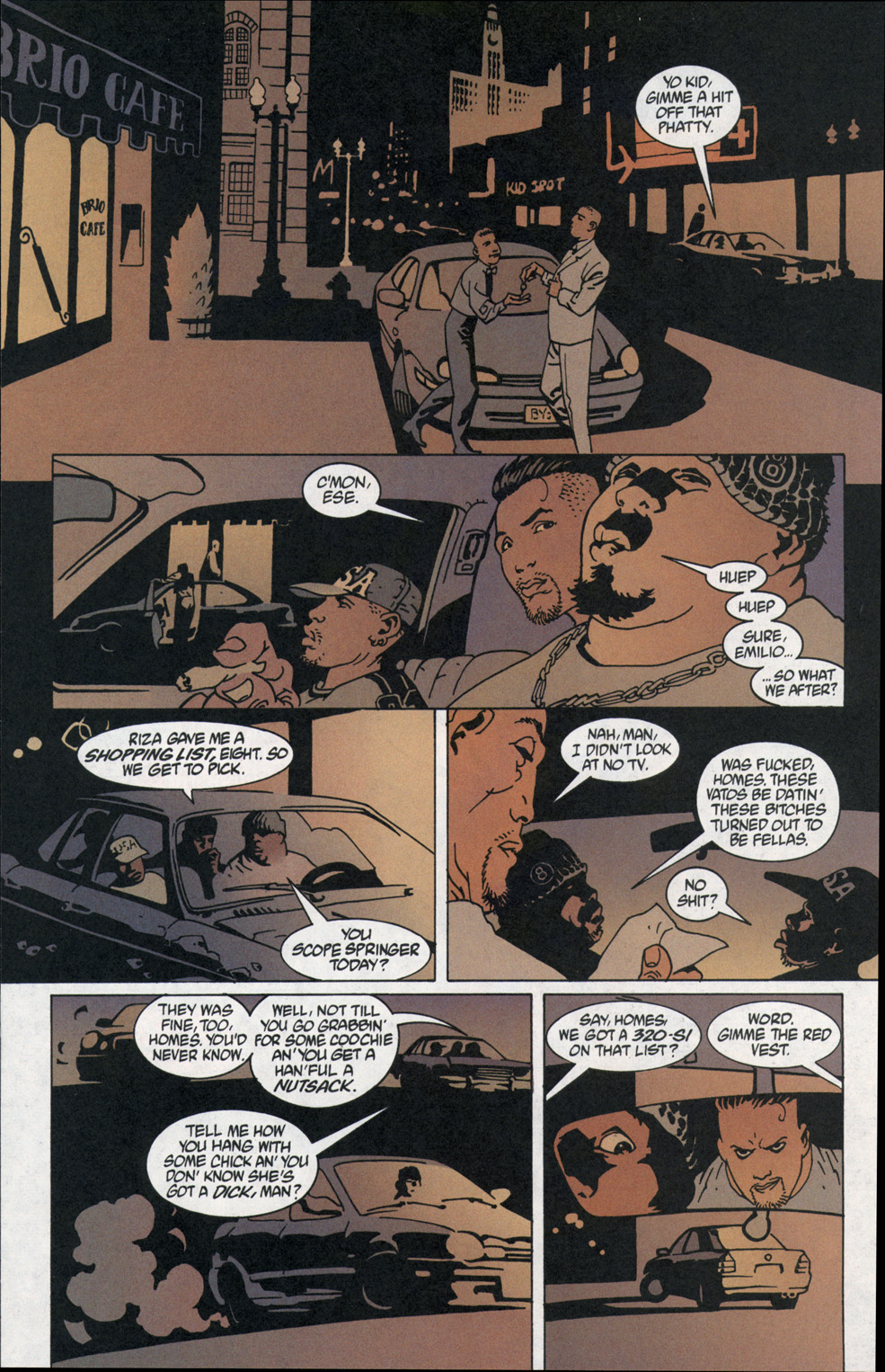Read online 100 Bullets comic -  Issue #1 - 12