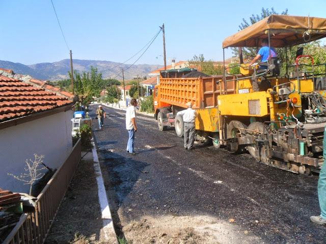 Σημαντικές βελτιώσεις στο οδικό δίκτυο του Δήμου Ναυπλιέων
