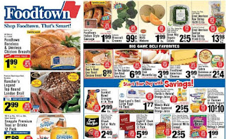 Foodtown weekly ad Touch 3 Day sale February 1 - 3, 2019