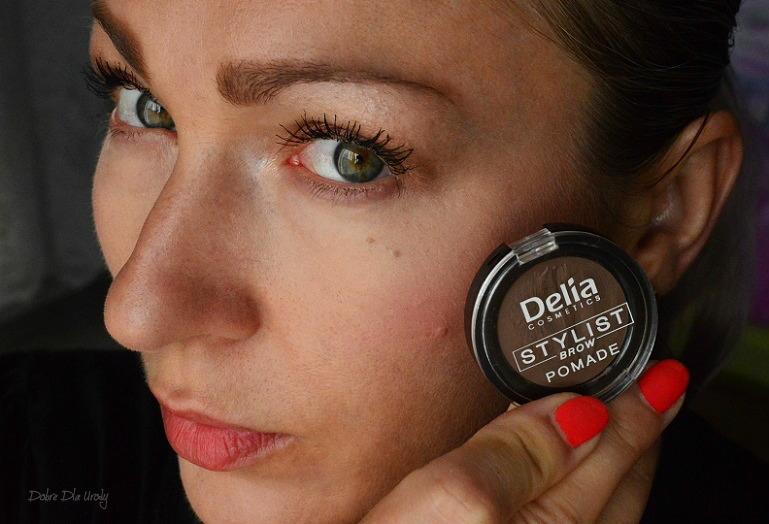 Pomada do brwi Eyebrow Expert Delia Cosmetics - Jasny Brąz