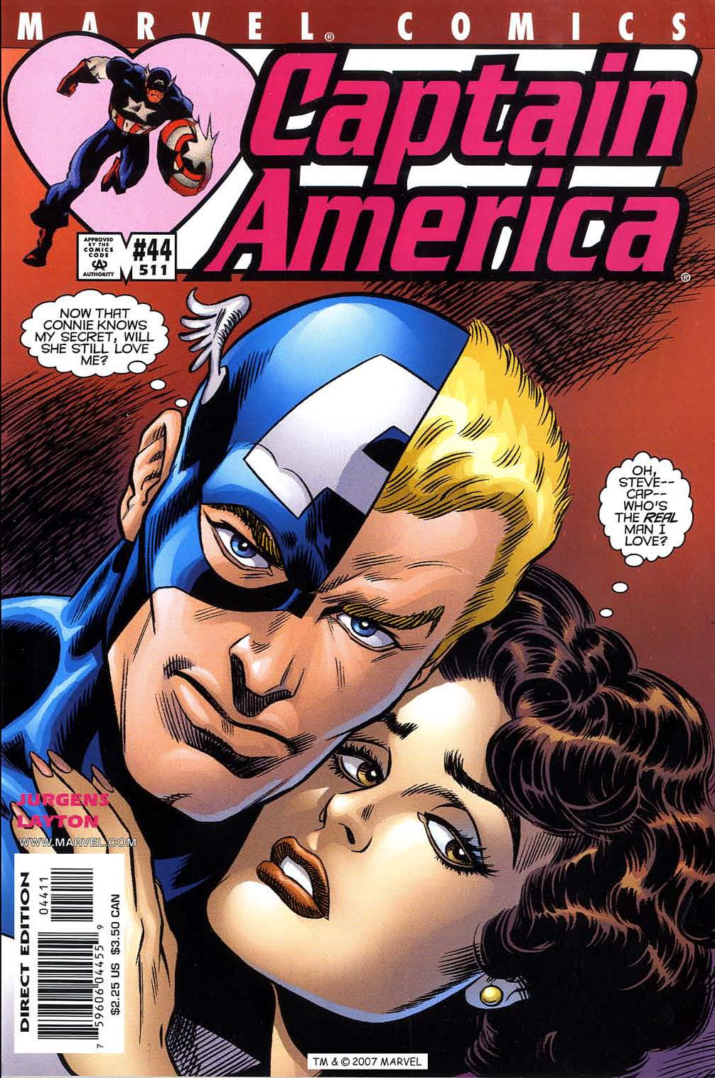Captain America (1998) Issue #44 #51 - English 1